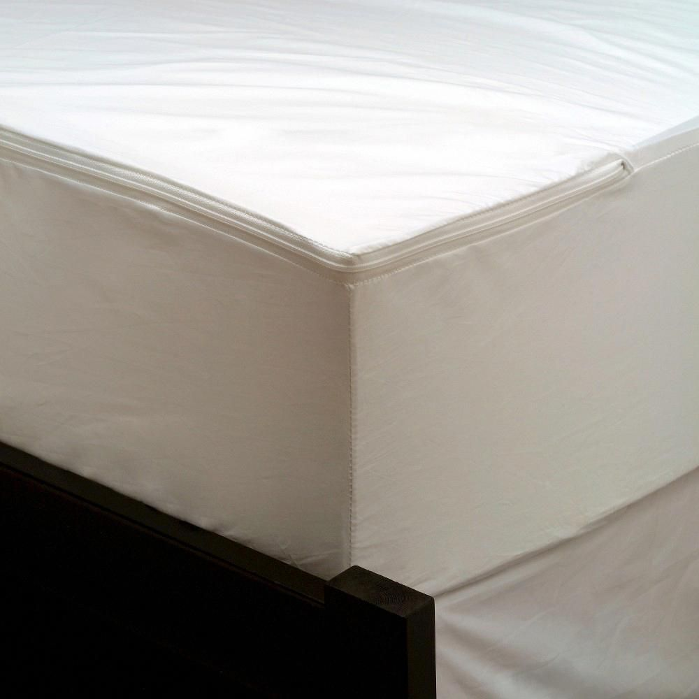 Allerease Bedbug Waterproof Allergy Protection Mattress Encasement White Twin Xl Memoryf Waterproof Mattress Cover Waterproof Mattress Mattress Encasement