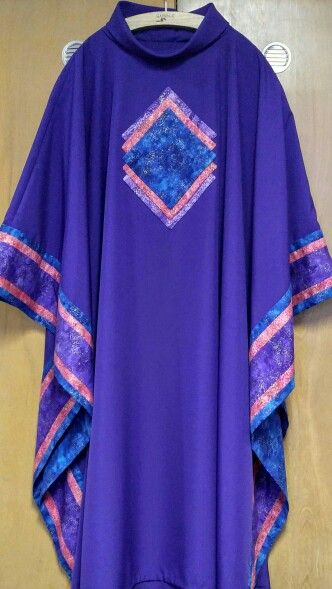 Advent chasuble