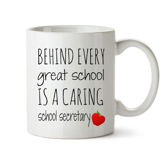Gift For School Secretary Gift For Graduation Gift School Secretary Appreciation Gift School Secretary Coffee Mug School Gift Secretary Gift #custodianappreciationgifts