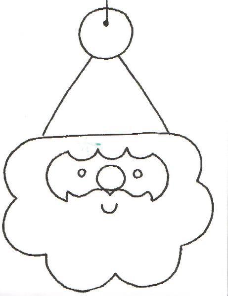 Tête De Père Noël Ps Natal Tete De Pere Noel Noel Et