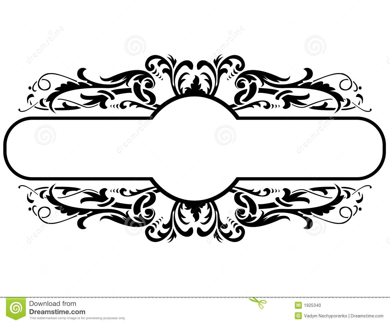 blackframefloraldecorationvectorillustration1925340