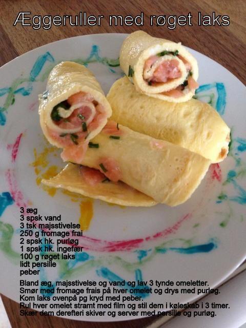 Æggeruller med laks