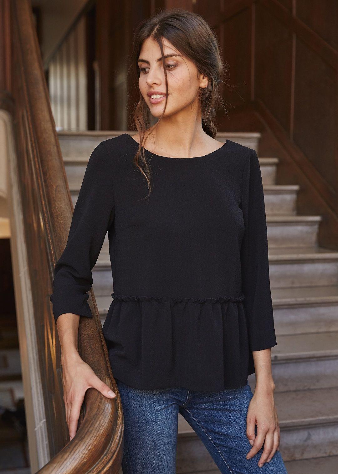 Sezane Blouse Gill Mode Pinterest Vetements Couture Et