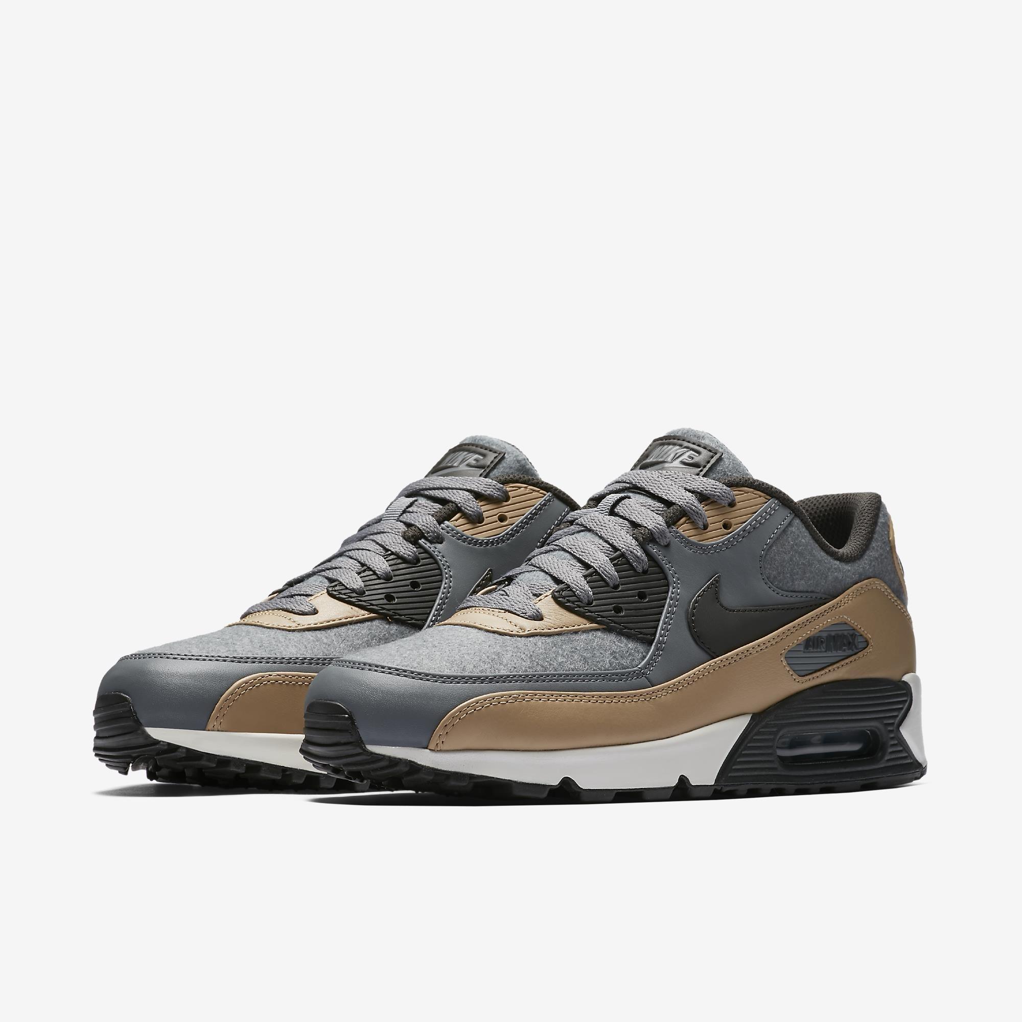 f93482744 Tênis Nike Air Max 90 Premium Masculino | must have | Sneakers nike ...