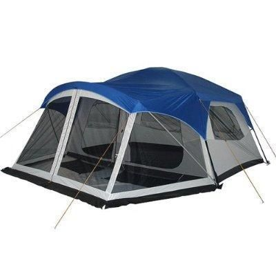 Greatland 7 8 Person Cabin Tent With Screen Porch Sold For 128