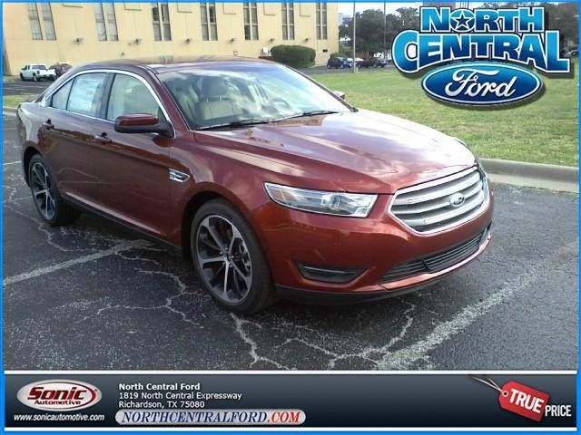The 2014 Ford Taurus In Sunset Metallic 29 Mpg On The Highway