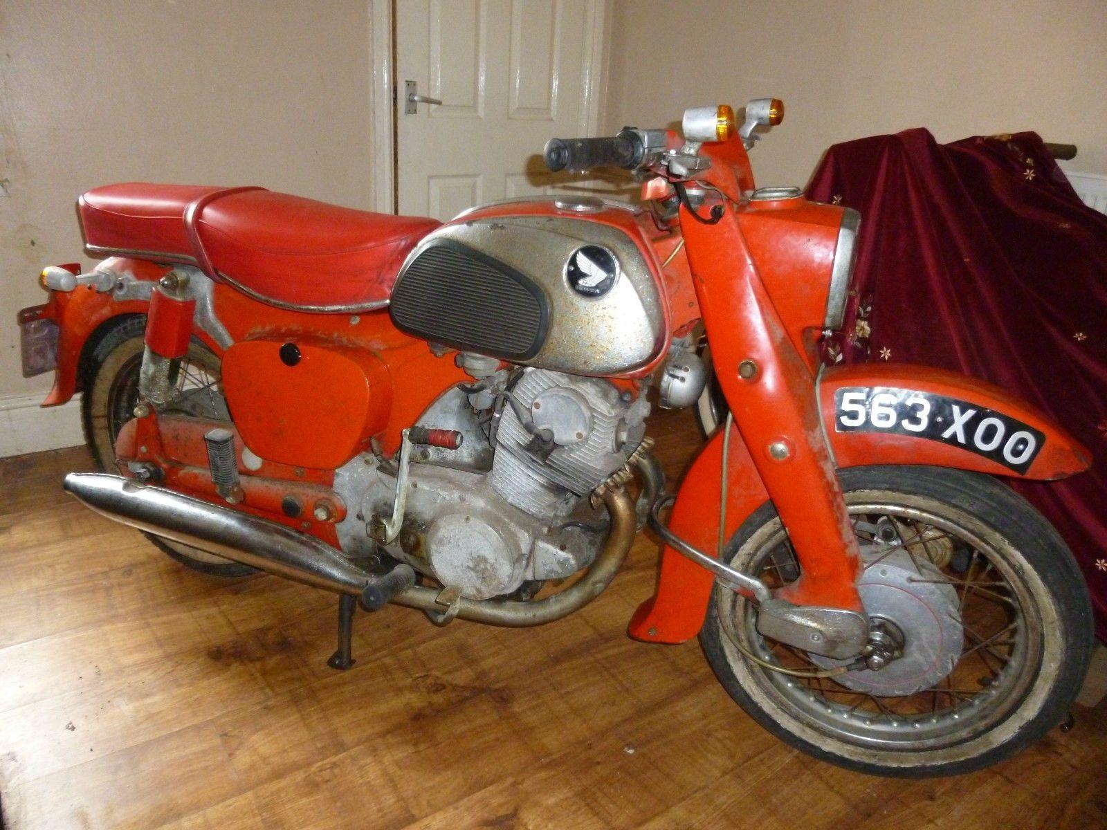 Ebay Honda C72 250cc 1962 Model Registered New In Uk In 1963 For Restoration Vintage Motorcycle Honda Motorcycle