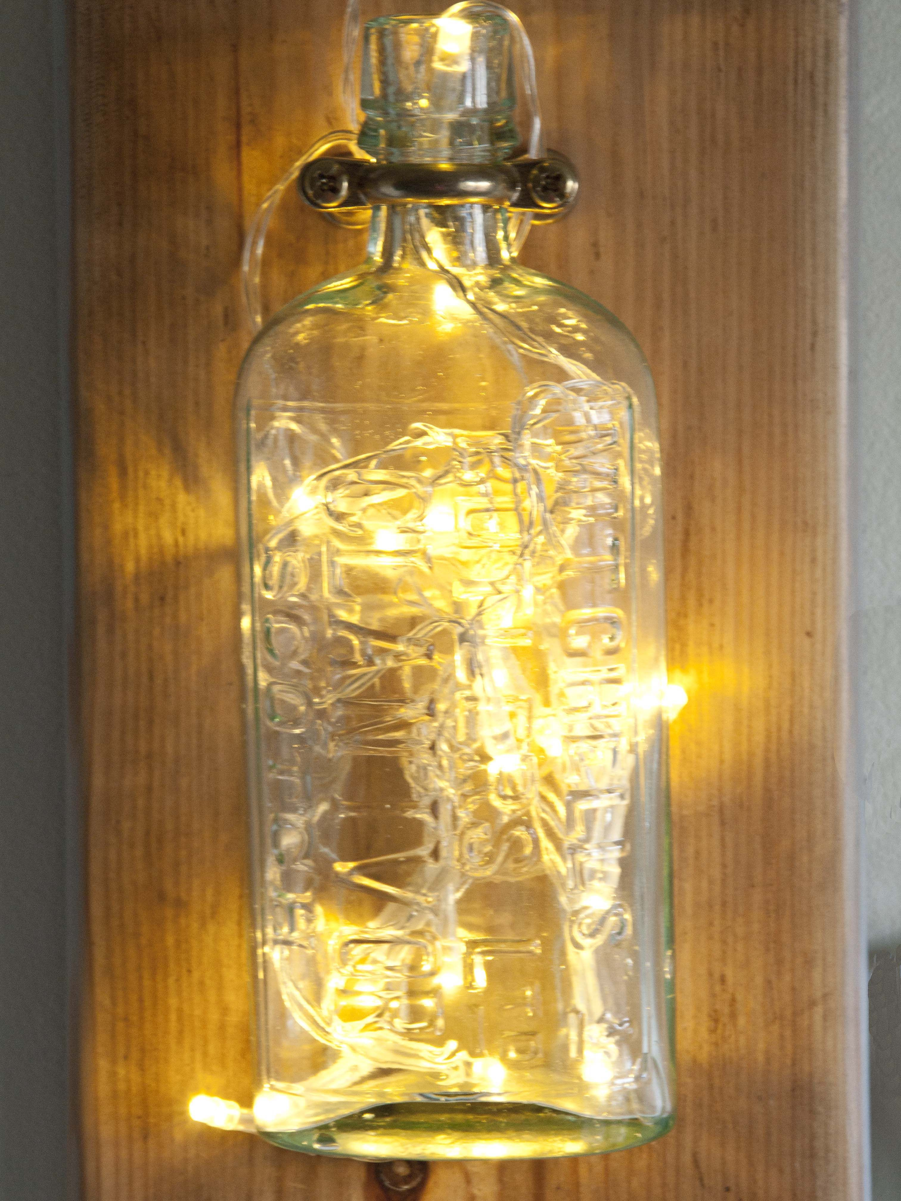 Vintage glass, whisky bottle,rustic decor, wall decor, cool lighting ...