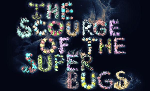 SUPERBUGS / Typography for Bloomberg by Ruslan Khasanov, via Behance