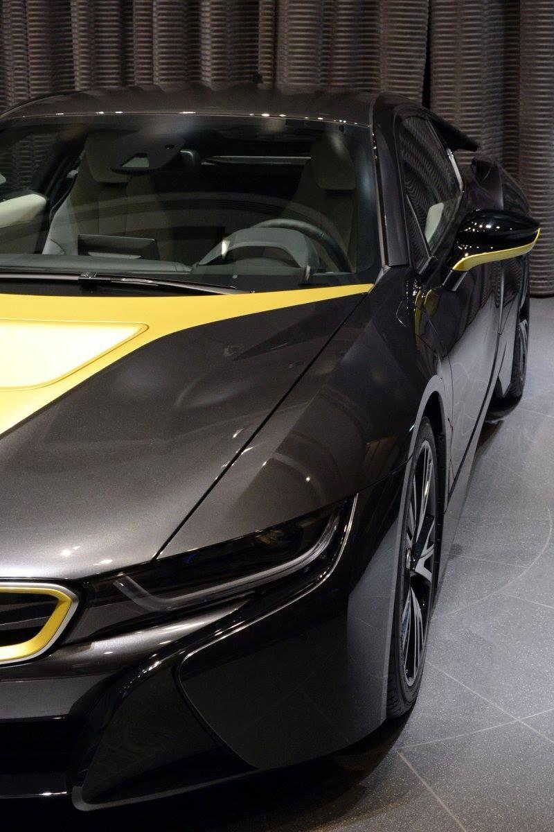 Bmw I8 Edrive Black Pearl Austin Yellow I12 I8 Edrive Coupe