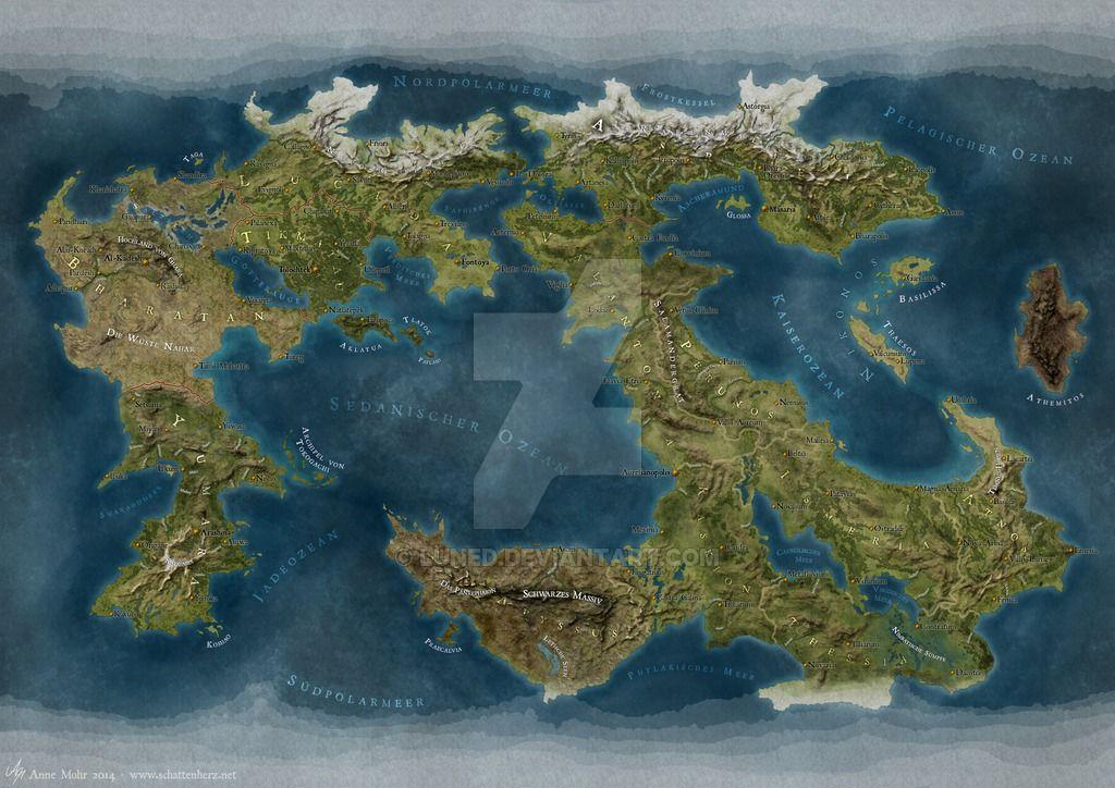 Image result for map of fantasy worlds Maps Pinterest Fantasy - new world clock map online