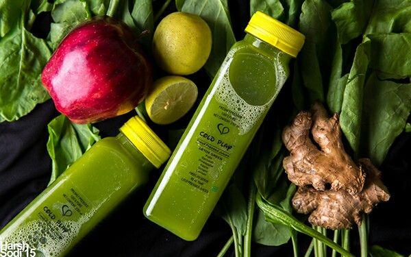 Coldplay Detox Green Juice