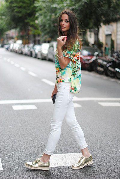 Como combinar una camisa hawaiana | Fashion | Pinterest | Camisa hawaiana Camisas y Zapatos dorados