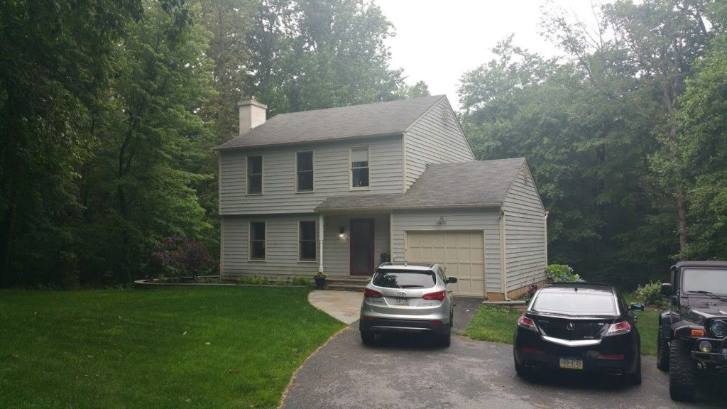 New Siding Windows Roof In Downingtown Pa Milanese Remodeling Blue Siding Insulated Siding Siding