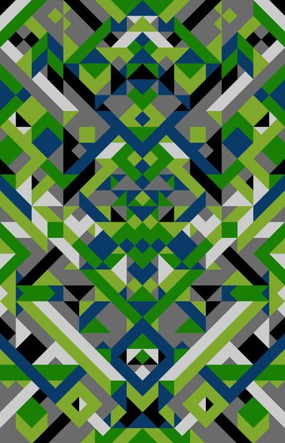 """Anasazi 3"" Fabric Panel Fabric panels, Pattern design"