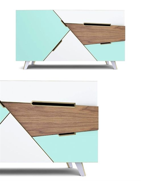 Ledito  love this! It's all about the angles, shapes and colour  beautifully designed furniture design FurnitureDesign is part of Sideboard designs -
