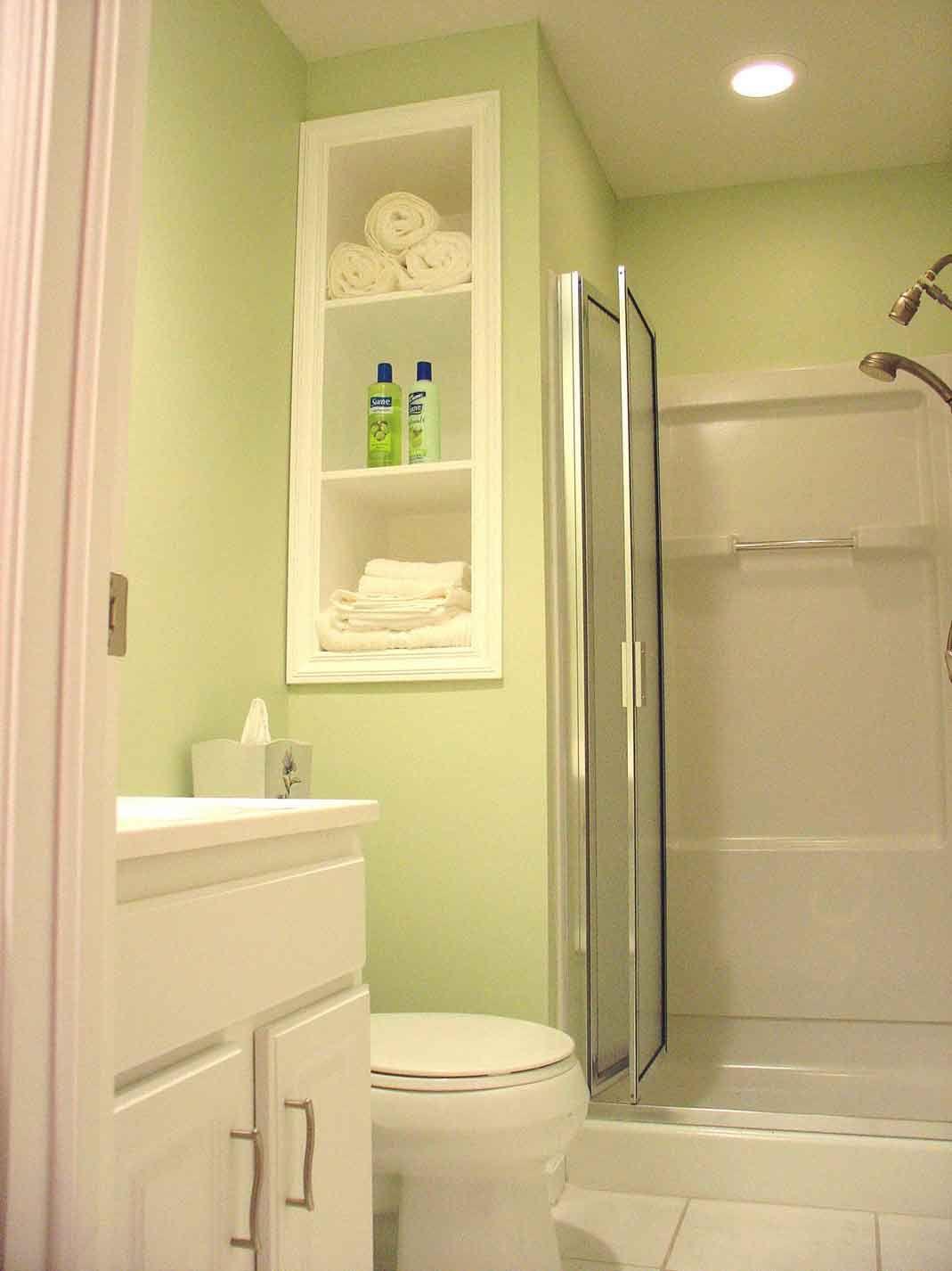 interior design shelves - 1000+ images about bathroom ideas on Pinterest Beach bathrooms ...