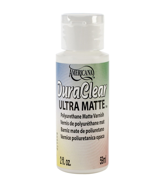 Decoart Ultra Matte Americana Sealer 2oz Art Supply Stores Bottle Matte Polyurethane