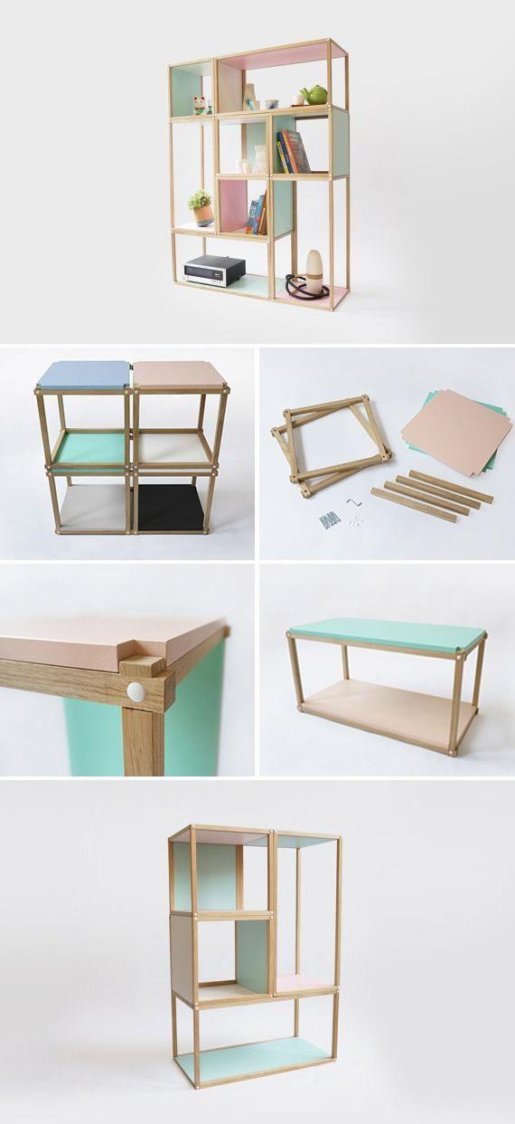 Studio Lorier\'s stylish modular storage | tolle Ideen | Pinterest ...