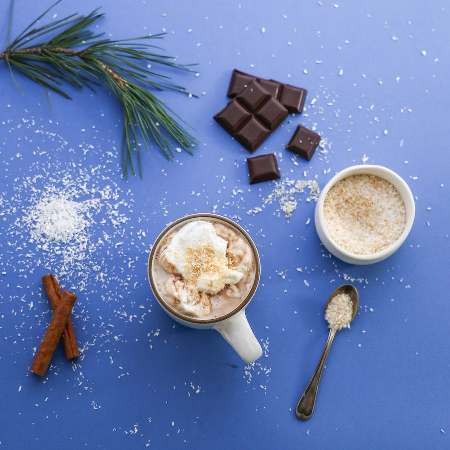 Love This #vegan Cinnamon Hot Chocolate! It's Made With