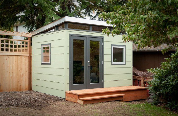 outbuildings shed backyard office shed prefab shed - Prefab Office Shed