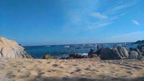 Guerrero, Puerto escondido.  Playa los angelitos