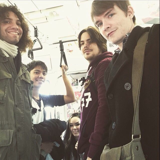 The Grumps In Japan Danny Kevin Suzy Arin And Ross