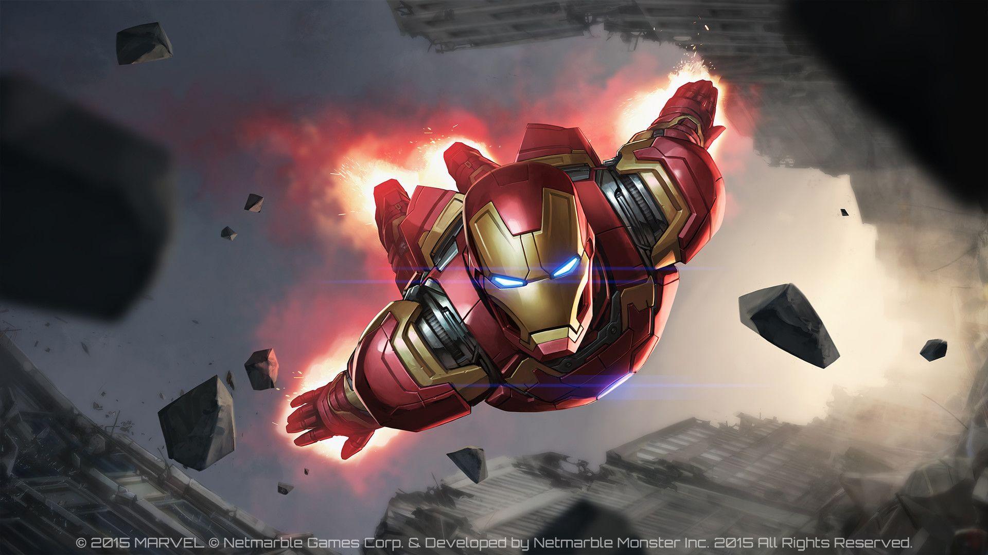 Iron Man Civil War Jee Hyung Lee Marvel Future Fight Iron Man