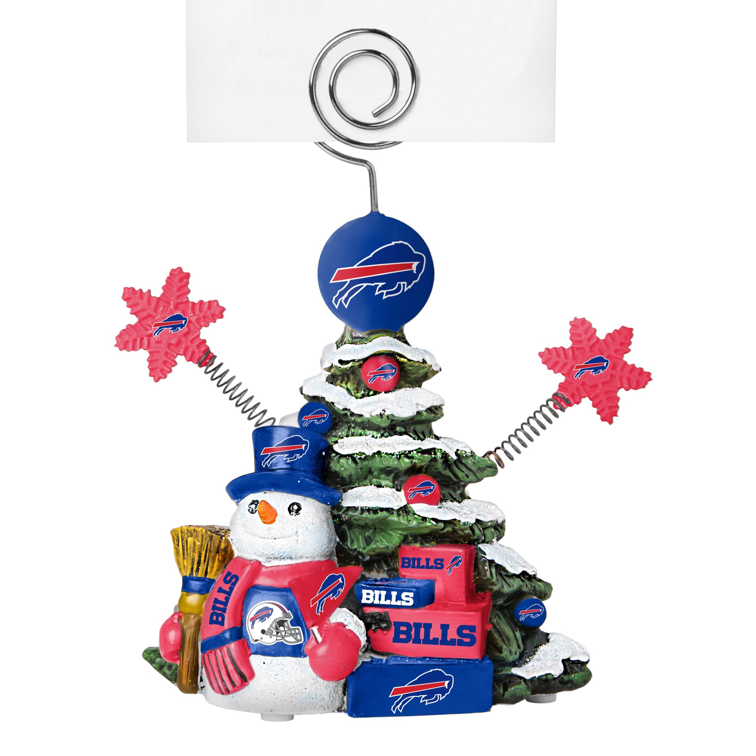 Boelter Brands Buffalo Bills Cast Porcelain Tree Photo Holder