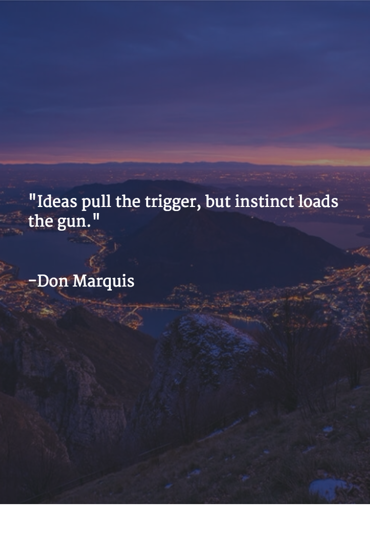 Don Marquis Quotes Brainyquote Triggered Quote Beautiful Quotes Heart Quotes