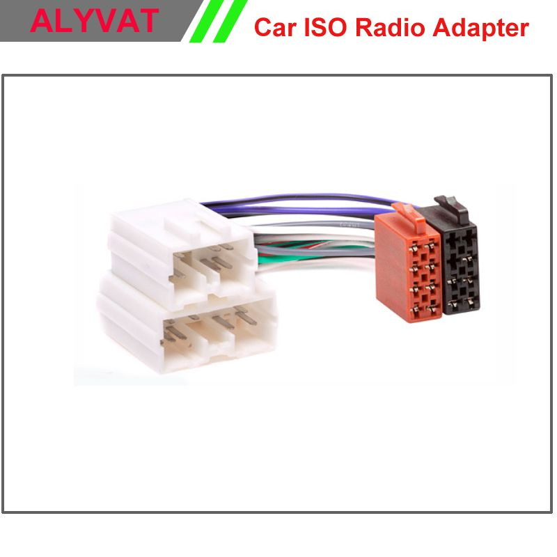 Car Iso Stereo Adapter Connector For Volvo S40 V40 S70 V70 Serie 8 Serie 9 Wiring Harness Auto Radio Adaptor P Car Electronics Volvo S40 Electronic Accessories