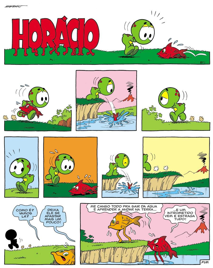 Mauricio De Sousa On Turma Da Monica Tirinhas Quadrinhos