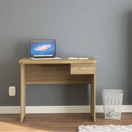 Compre Mesa Escrivaninha Para Computador Resende 1 Gaveta Castanho