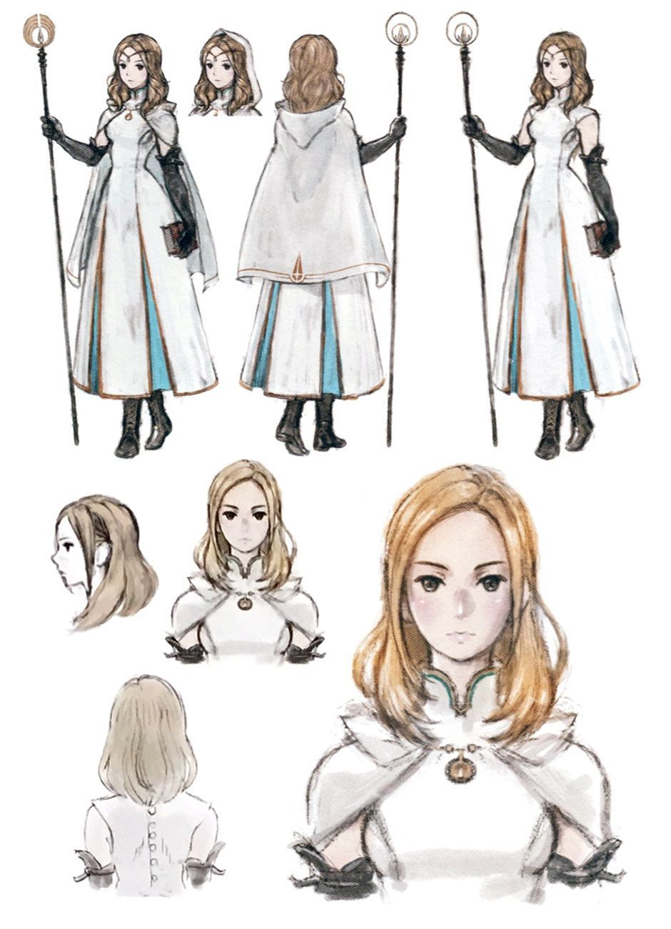 Ophilia Clement Concept Art - Octopath Traveler Art Gallery  The Effective Pictures We Offer You About Character Design writing   A quality picture can tell you many things. You can find the most beautiful pictures that can be presented to you about  Character Design princess  in this account. When you look a... #3d character #Anatomy Rpg #Animation #Art #Character art #Character concept #clement #Concept #Concept art #gallery #Glen keane #Line art #octopath #ophilia #Otto schmidt #traveler