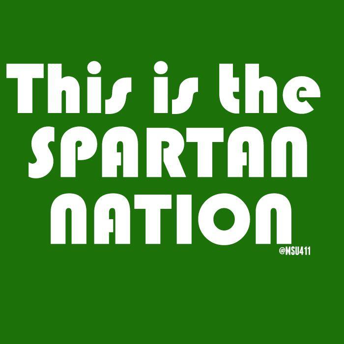 Spartan Msu Michigan State Football Michigan State University Michigan State