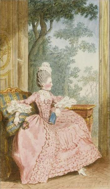 Portrait of Louise Marie Adelaide de Bourbon (1770) by artist ...