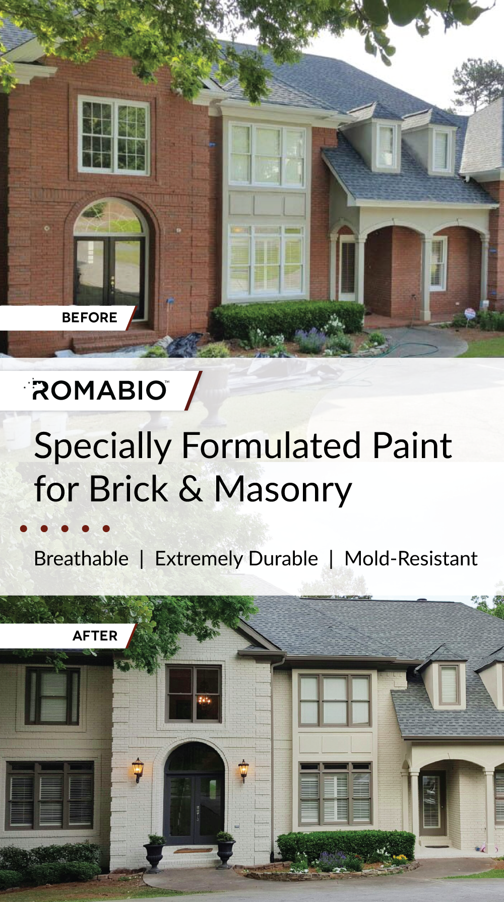 Pin von ROMABIO auf Brick and Masonry Paint | Pinterest