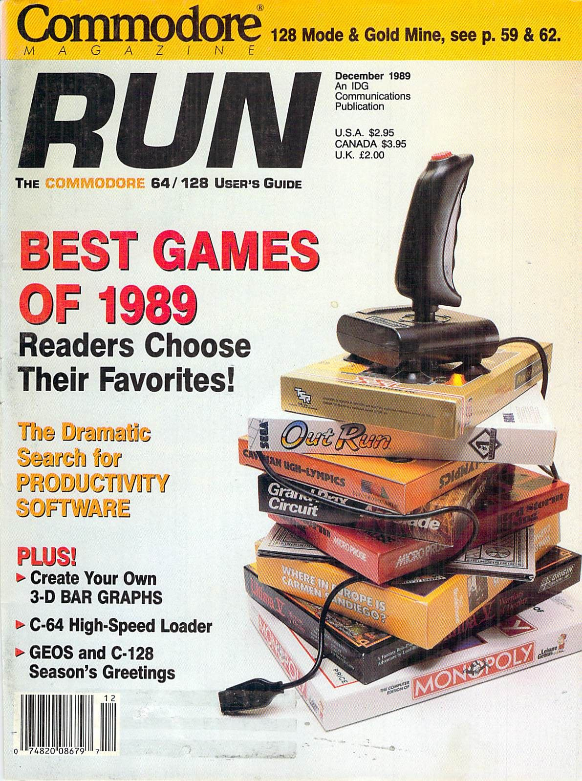 Run The Commodore 64 & 128 User's Guide, Issue Number 72