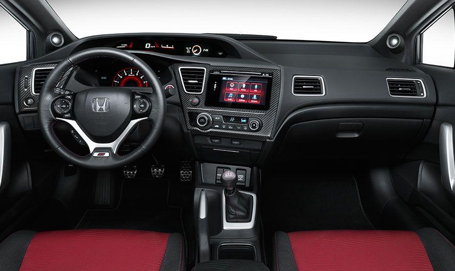 2014 Civic Coupe SI Interior (มีรูปภาพ) รถยนต์