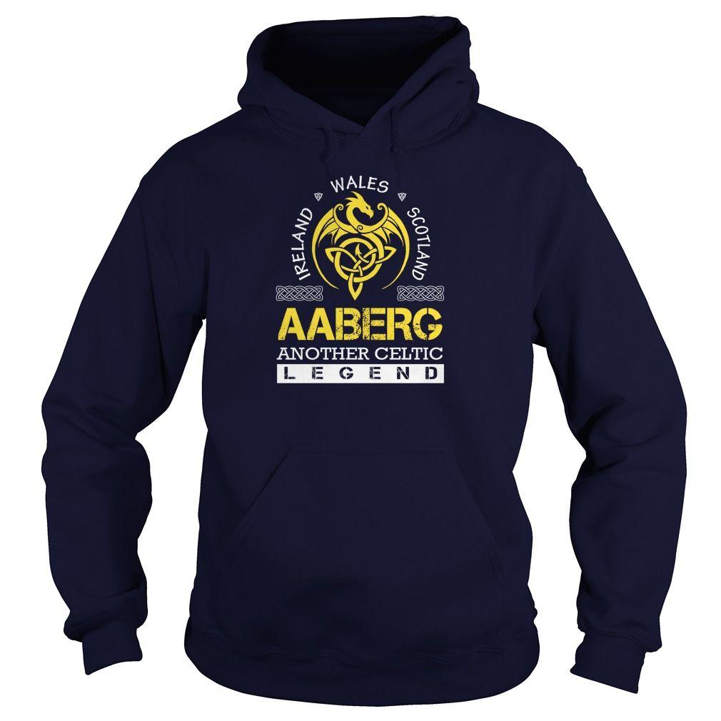 AABERG Legend Lastname, Surname Tshirts