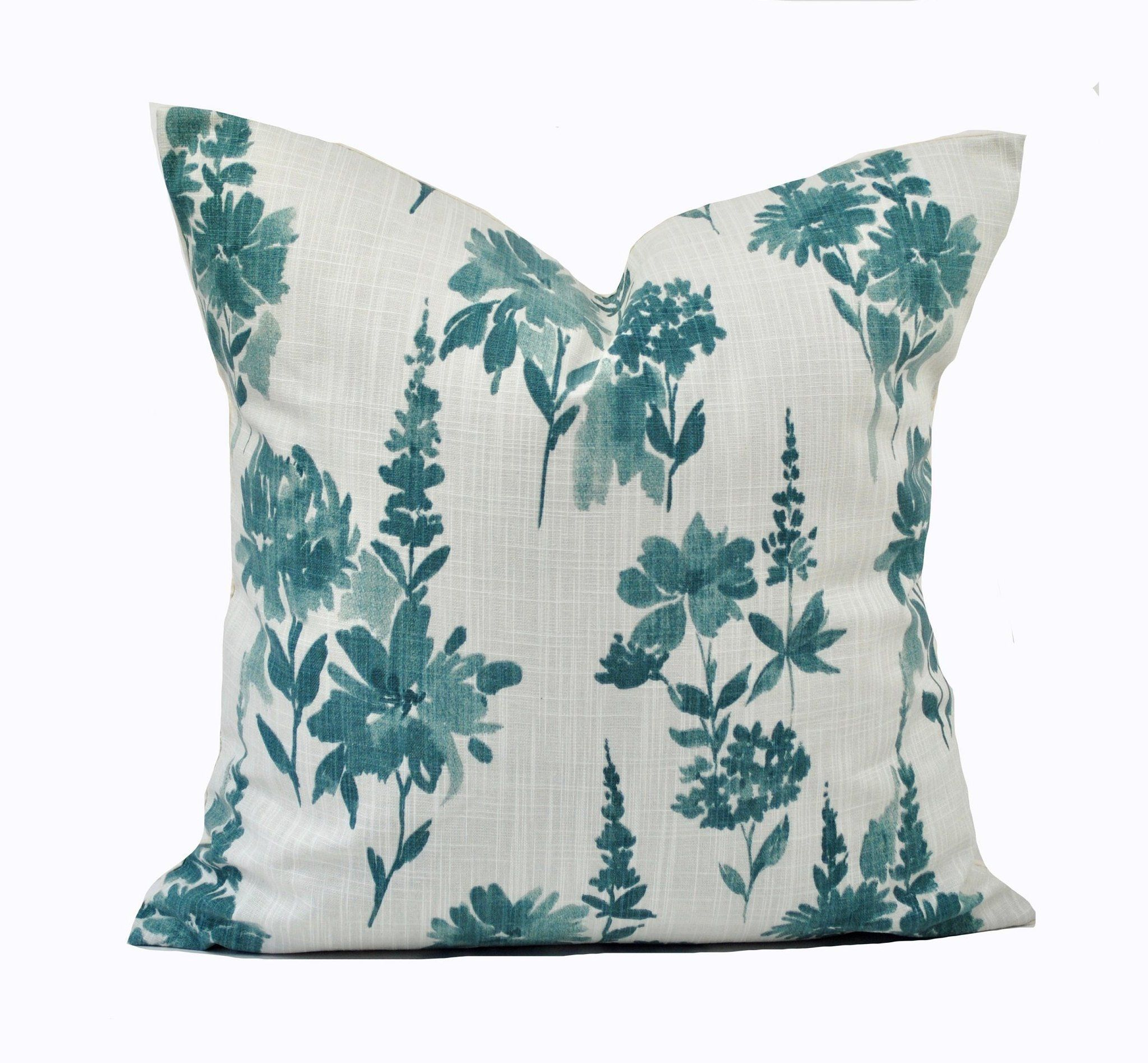 One Quality Cyan Pillow Cover Cushion Decorative Throw Pillow