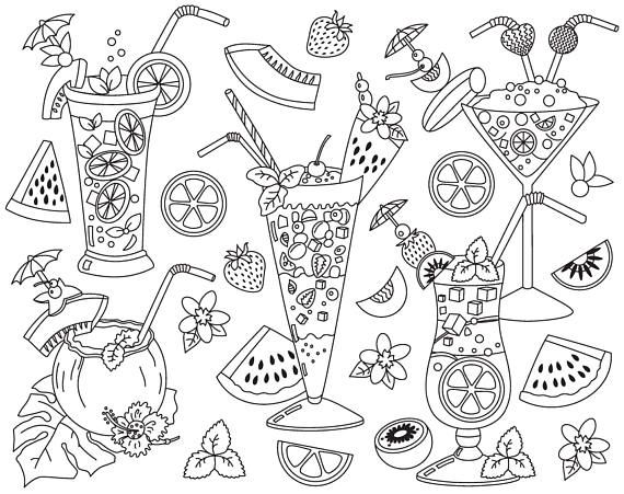 Item Coctails Clipart Vector Cocktails Clipart Black And White