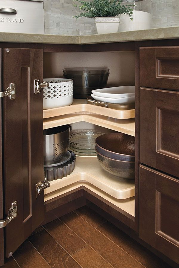 Genial The Asymmetrical Lazy Susan Cabinet Is A Great Solution When There Is A  Need For One Side Of A Corner Cabinet To Be Longer Than The Other.