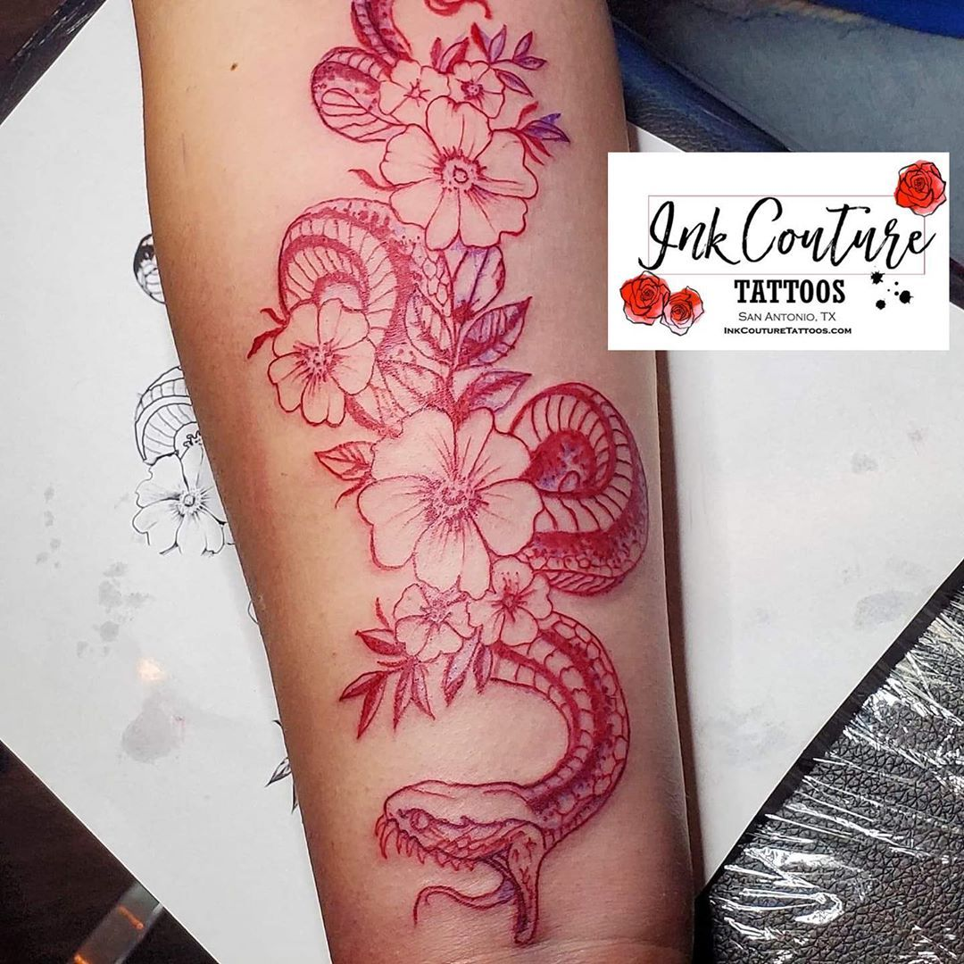 Ink Couture Tattoos On Instagram Look What S Inking At Ink Couture Tattoos Tattoo By Claire Inkcouturetattoos Com In 2020 Red Ink Tattoos Ink Tattoo Tattoos