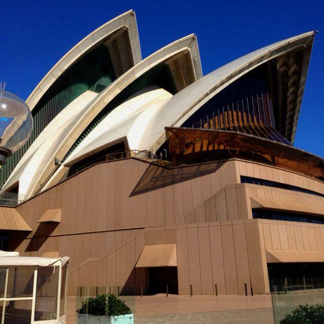 Sydney Opera House. photo creds: My dad (: