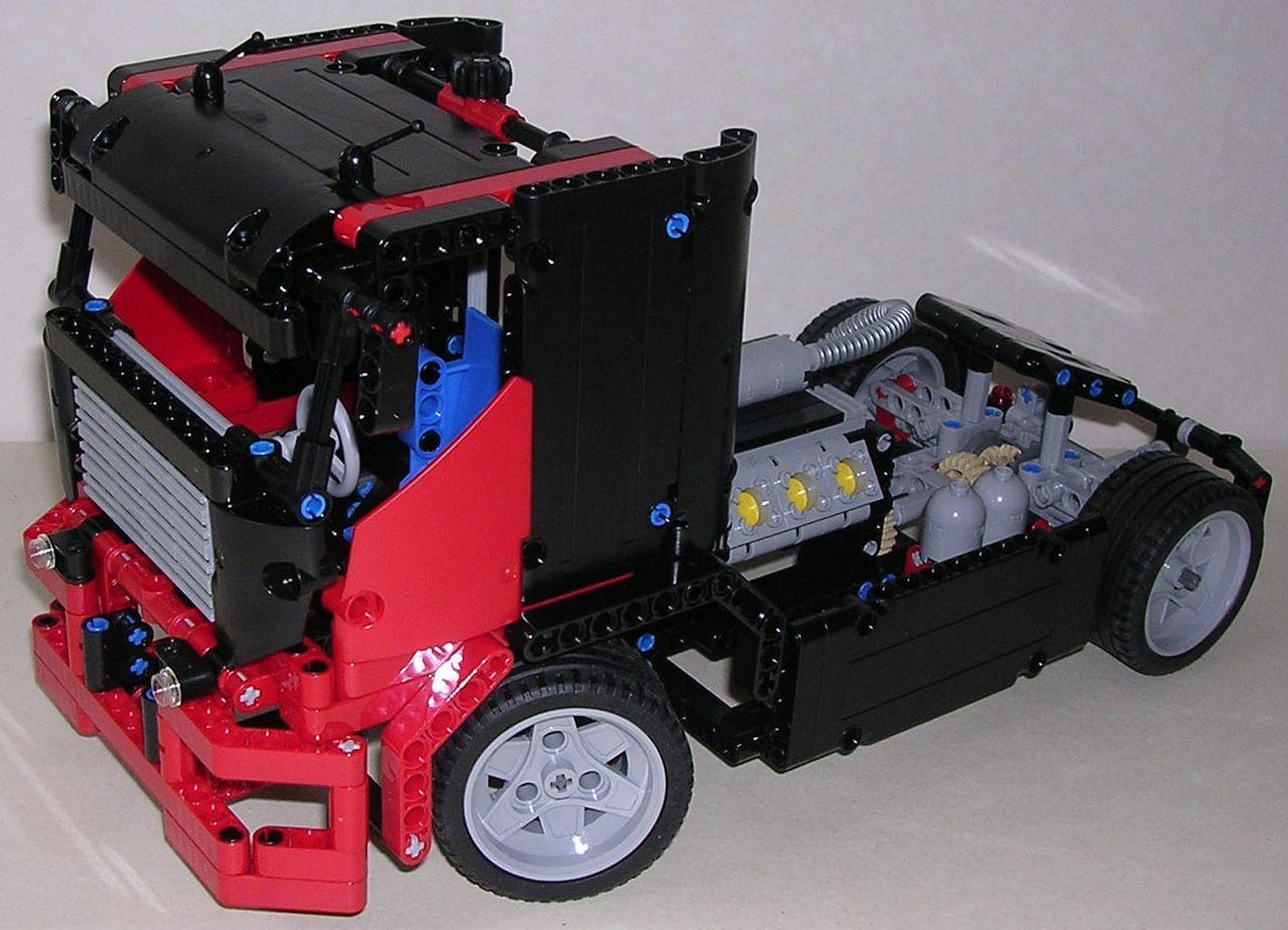 review lego technic 8041 camion de course lego technic pinterest. Black Bedroom Furniture Sets. Home Design Ideas