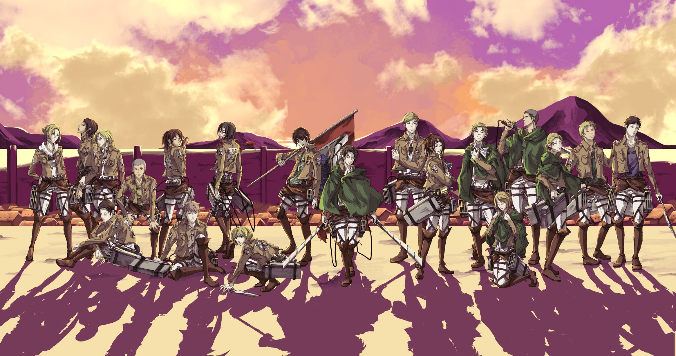 shingeki no kyojin wallpaper anime jpeg grafik