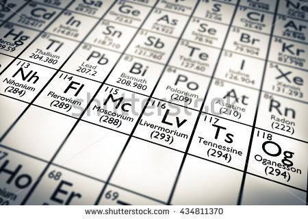 Periodic Chart - New Elements Periodic Tables   Periodic Charts - new periodic table no. crossword