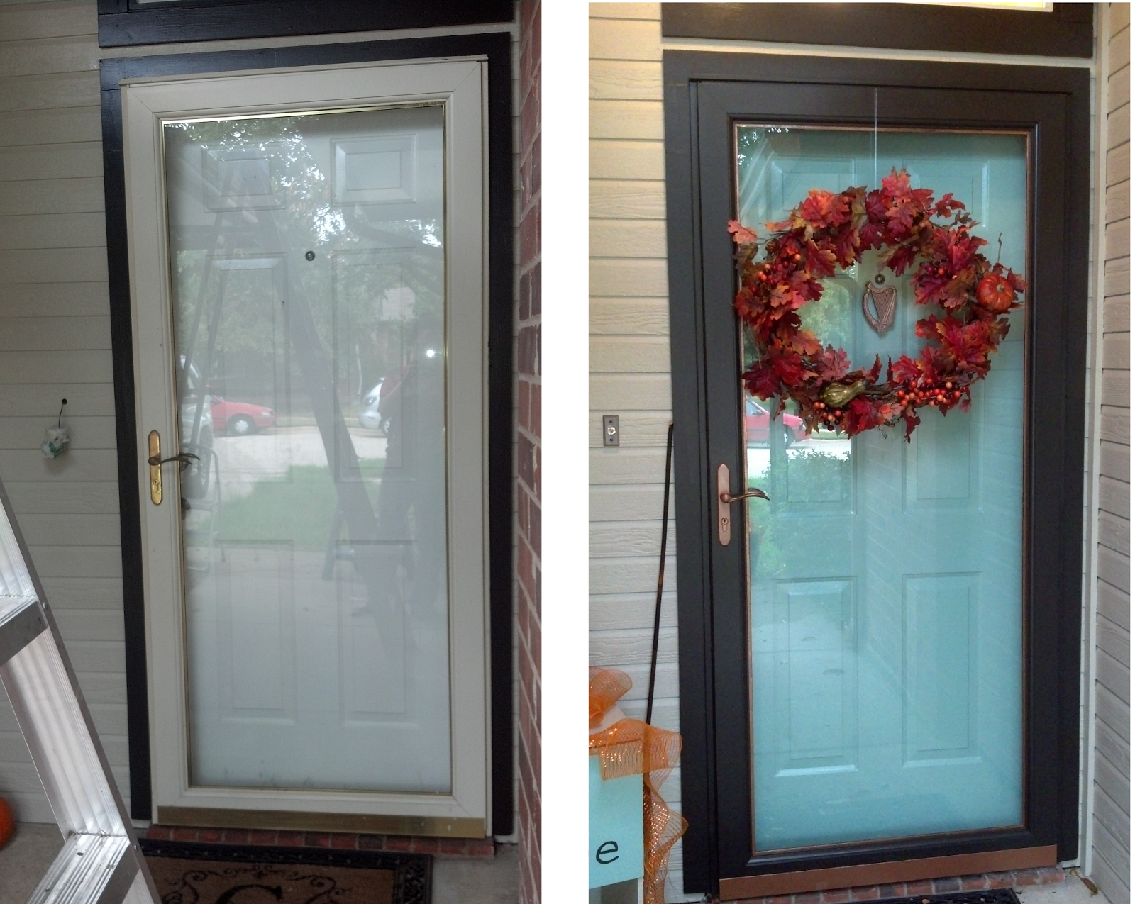 How To Paint Your Front Door Storm And Hardware