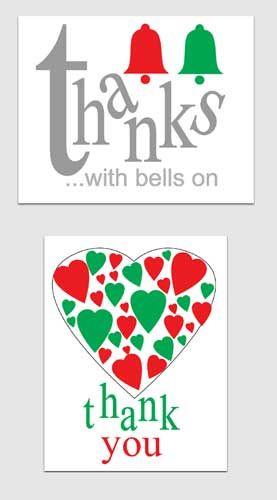 Printable Christmas Thank You Card Templates - Worksheet  Coloring - printable christmas card templates